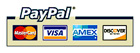 PayPal, Accepted Credit Cards